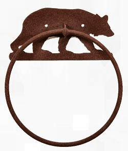 Towel Ring-Bear Design