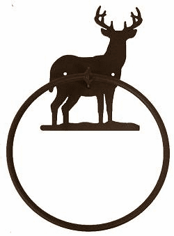 Towel Ring-Deer Design