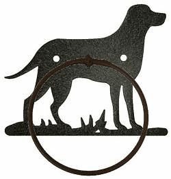 Towel Ring-Dog Design