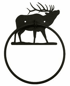 Towel Ring-Elk Design