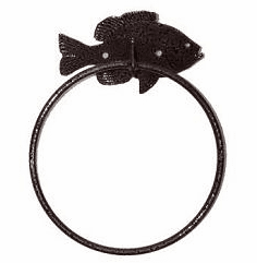 Towel Ring-Fish Design