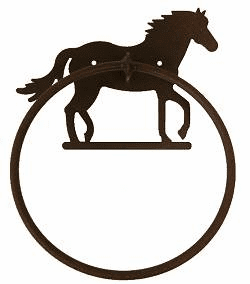 Towel Ring-Horse Design