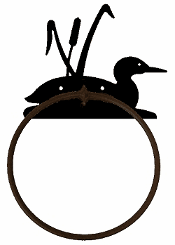 Towel Ring-Loon Design