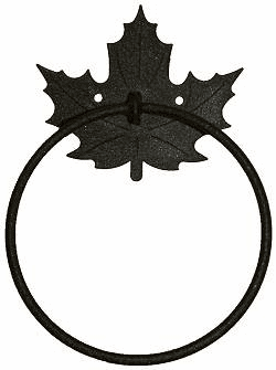 Towel Ring-Maple Leaf Design