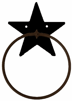 Towel Ring-Star Design