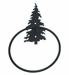 Towel Ring-Tree Design