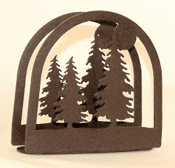 Tree Arched Napkin and Letter Holder