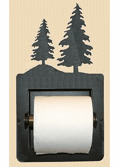 Tree Toilet Paper Holder (Recessed)
