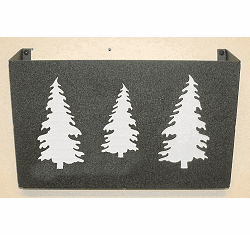 Tree Wall Mount Magazine Rack