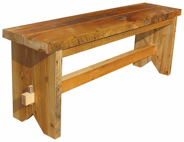 Trestle Bench, 48 inch wide