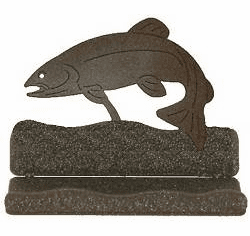 Trout Business Card Holder