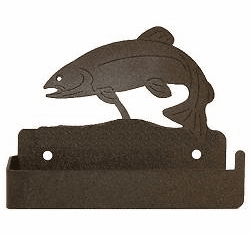 Trout One Piece Toilet Paper Holder
