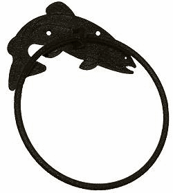 Trout Towel Ring