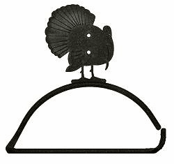 Turkey Design Paper Towel/Toilet Paper Holder