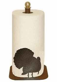 Turkey Paper Towel Holder for Countertop