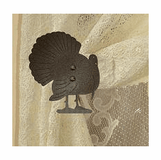 Turkey Swag Holder Pair