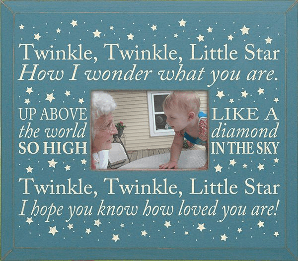 Twinkle, Twinkle, Little Star...Frame