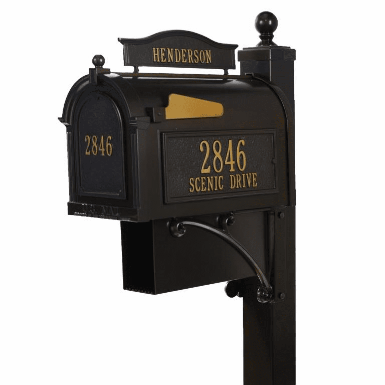 Ultimate Mailbox Package in Bronze