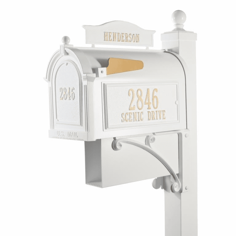 Ultimate Mailbox Package in White