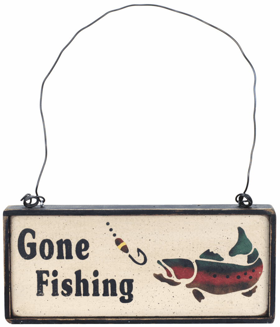 Unique Fishing Gift - Gone Fishing