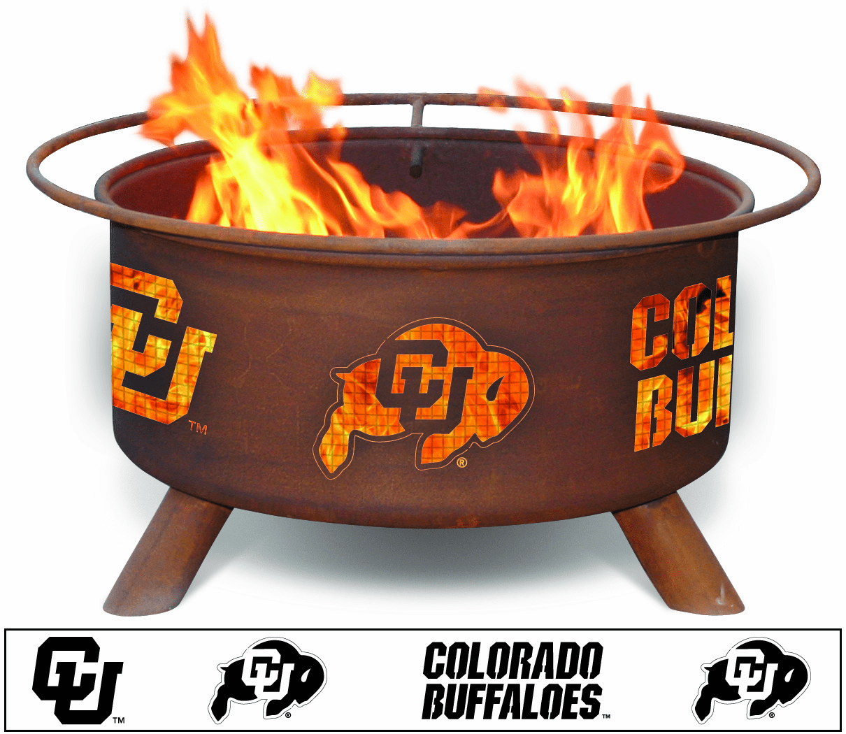 Univeristy of Colorado Fire Pit - Colorado Buffaloes