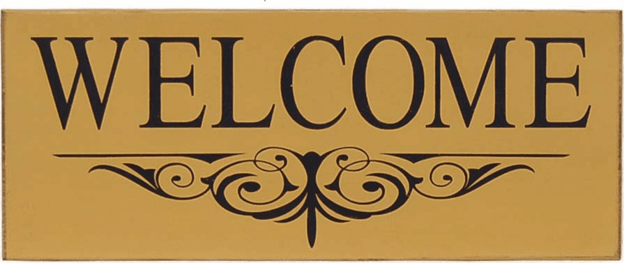 Welcome Sign - Rustic Decor