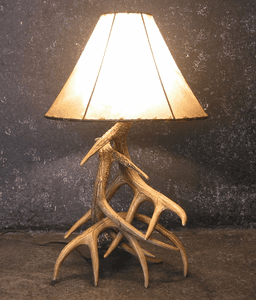 Whitetail and Elk Antler Lamps and Sconces