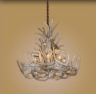 Whitetail Antler 8 Light Tall XL Chandelier