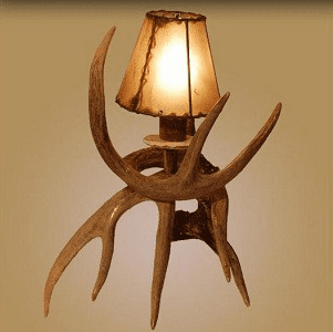 Whitetail Antler Nightlight