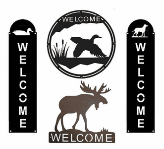 Themed Welcome Signs