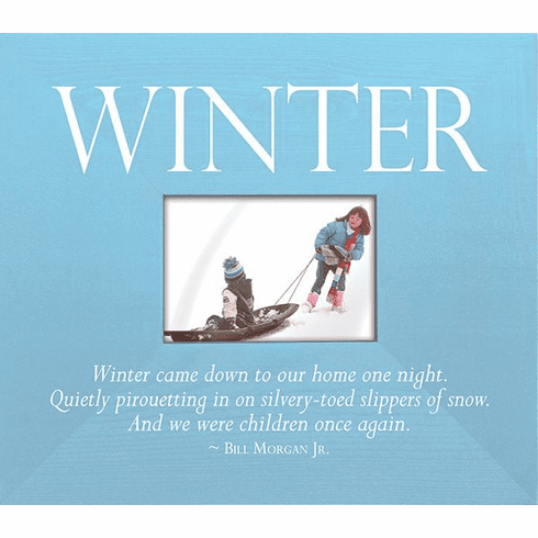 Winter - Winter Came Down to Our Home One Night�Frame