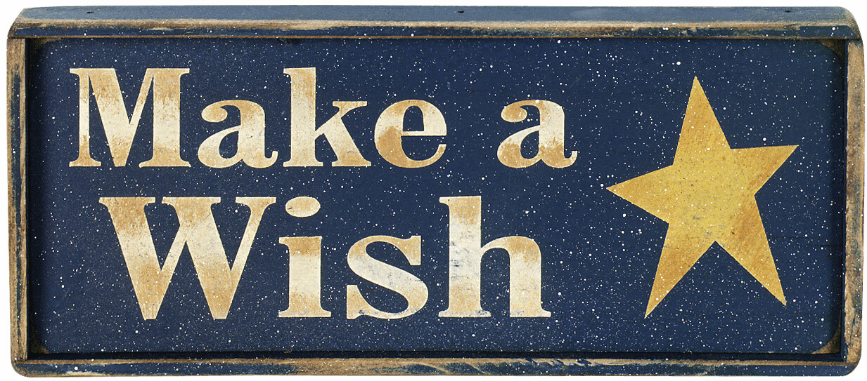 Wish Upon A Star - Make A Wish