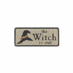 Witch is In or Out - Reversible Sign