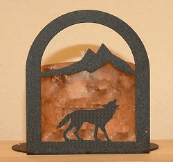 Wolf Arched Candle Holder
