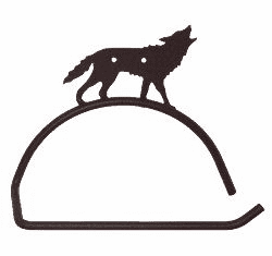 Wolf Design Paper Towel/Toilet Paper Holder