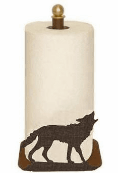 Wolf Paper Towel Holder
