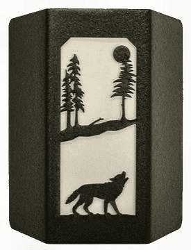 Wolf Sconce Wall Light