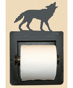Wolf Toilet Paper Holder (Recessed)
