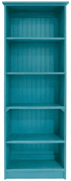 Wood Bookcase, 72in tall x 24in wide