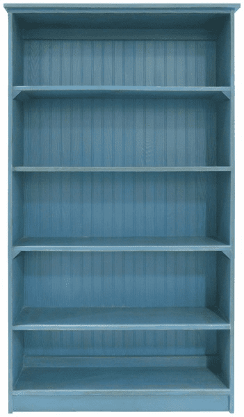 Wood Bookcase, 72in tall x 36in wide