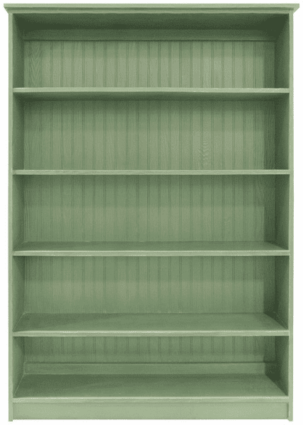 Wood Bookcase, 72in tall x 48in wide
