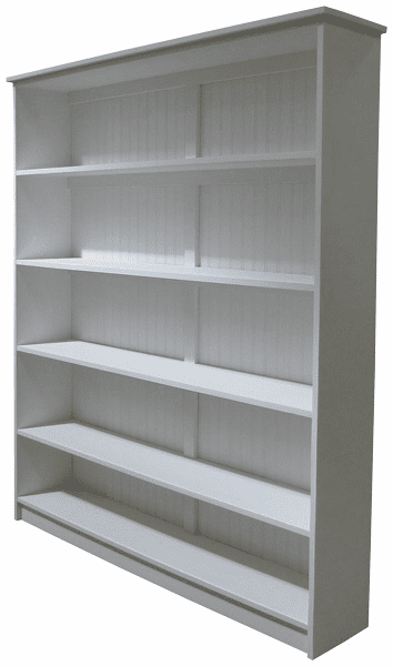Wood Bookcase, 72in tall x 60in wide