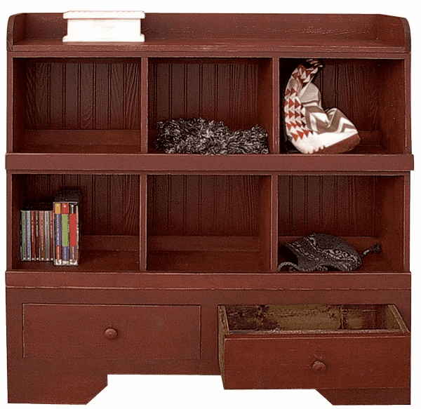 Wood Cubby, 48 inch wide