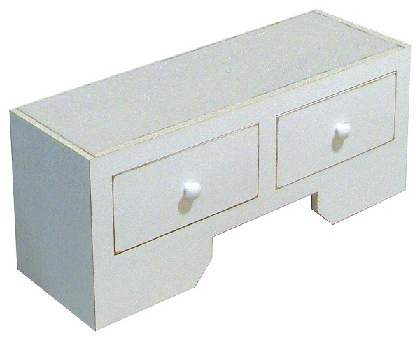Wood Drawer Base, 36 inch wide