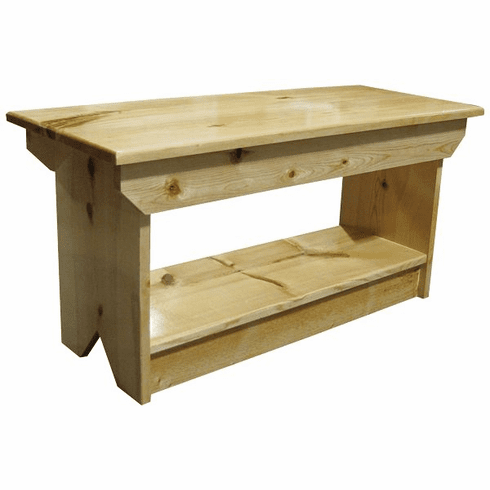 Wood Garden Bench, 36 inch wide