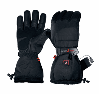 ActionHeat 5V Battery Heated Snow Gloves - Women's
