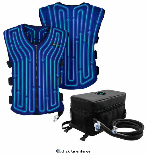 AlphaCool 12V Motorcycle Circulatory Cooling Vest System