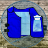 AlphaCool Arctic Cooling Ice Vest with Self-Fill Reusable Ice Packs