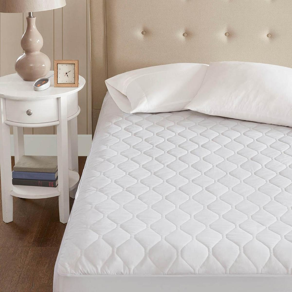 Beautyrest Heated Microfiber Mattress Pad with 3M ...