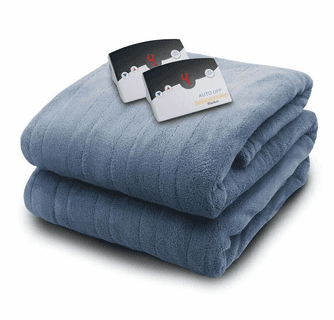 Biddeford Blankets Micro Plush Electric Heated Blanket with Digital Controller - King